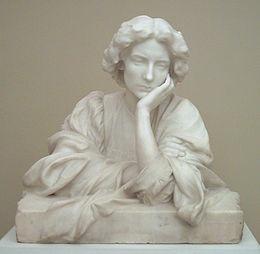 Sensible , escultura de Miquel Blay (1910)
