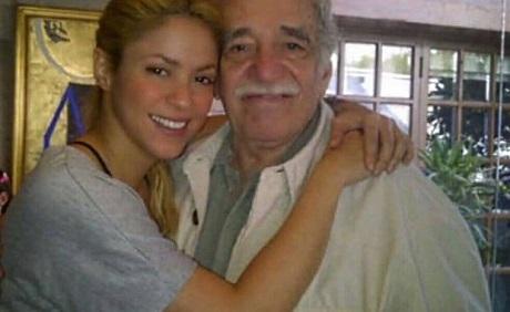"""Shakira rinde homenaje a """"Gabo"""" en aniversario de su fallecimiento"""