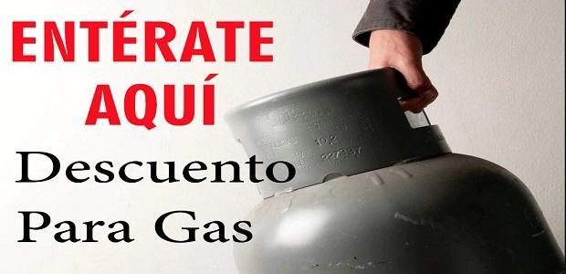 Vale de Descuento Para Gas..  ENTÉRATE AQUÍ