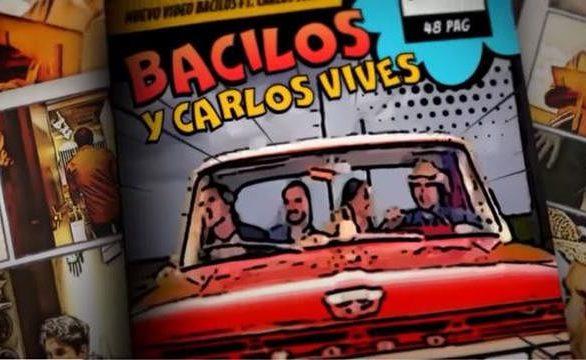 """Bacilos y Carlos Vives presentan videoclip de nueva versión de """"Caraluna"""""""